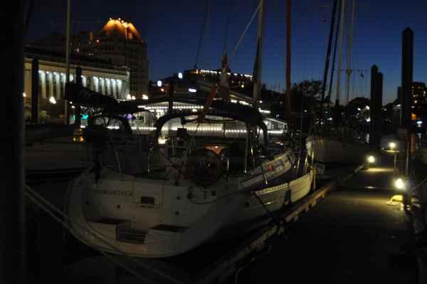 Night In Victoria BC